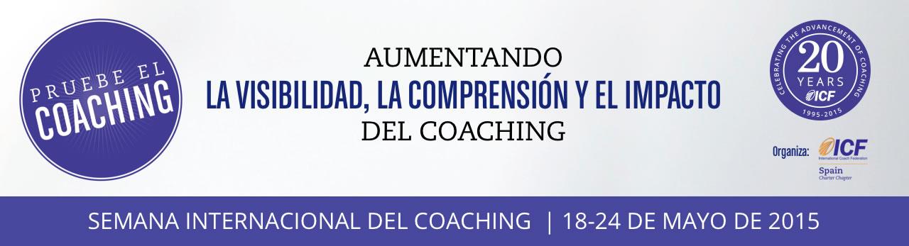 Logo iv semana internacional del coaching 2015