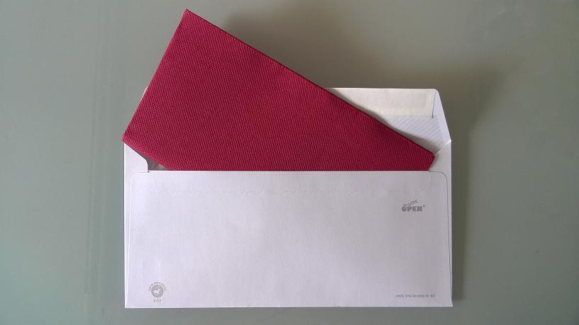 foto del tercer regalo de boda original: servilleta de papel