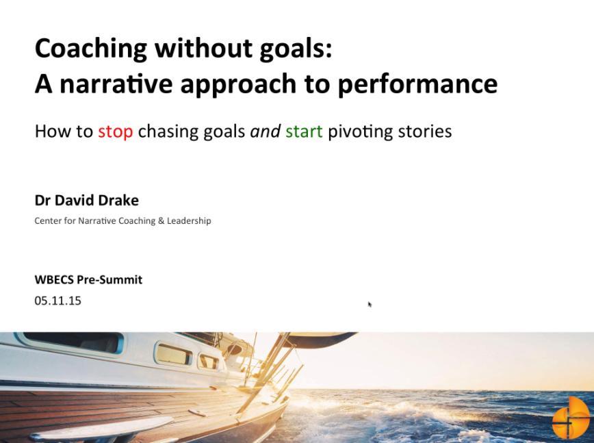 David-Drake-WBECS-2015-coaching-narrativo-1